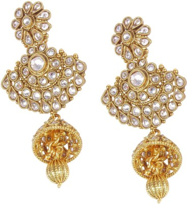 Muchmore Lovely Crystal Alloy Drop Earring