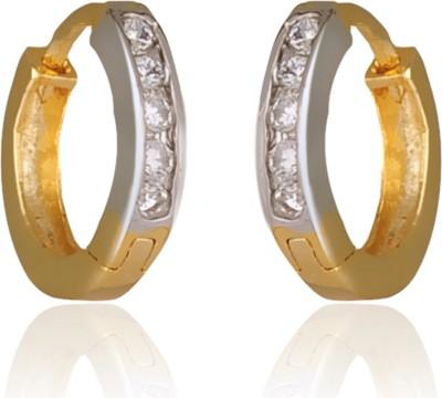 RC Designer Brass Clip-on Earring