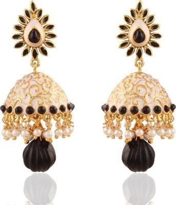 Panini Mini Brass Jhumki Earring