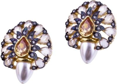 Jahnvi Victorian magic Metal Stud Earring