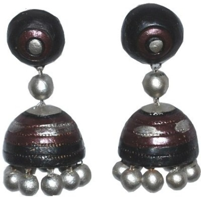 Aanya Creations Terracotta Ceramic Jhumki Earring