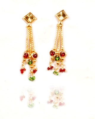 Gajraula Crafts Valentine Special Alloy Dangle Earring