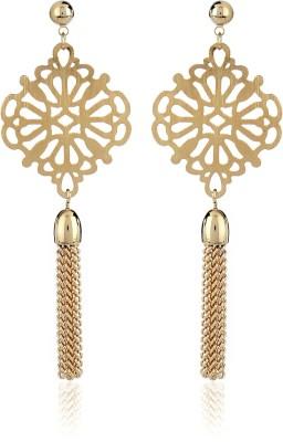 Thingalicious Oriental Tassel Metal Drop Earring