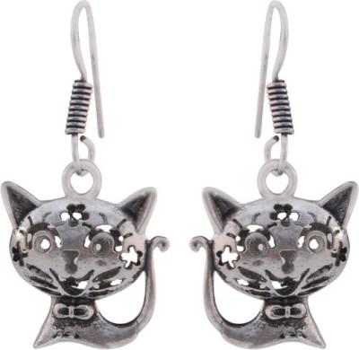 T M FASHIONS Stylish German Silver Dangle Earring