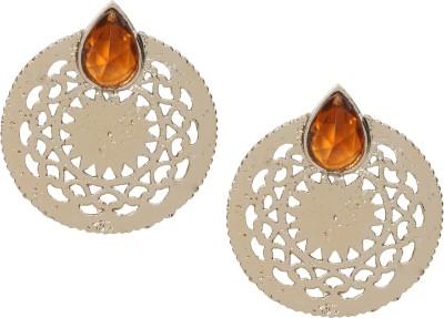 Saaj Jewels Metal Long Crystal Alloy Stud Earring