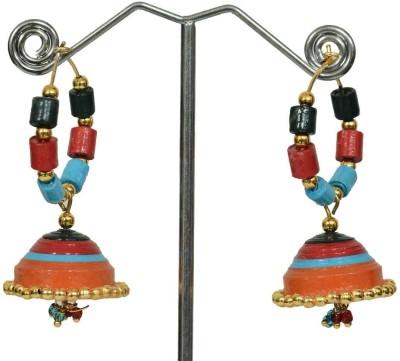 NKL Creations Nklqj18 Paper Hoop Earring