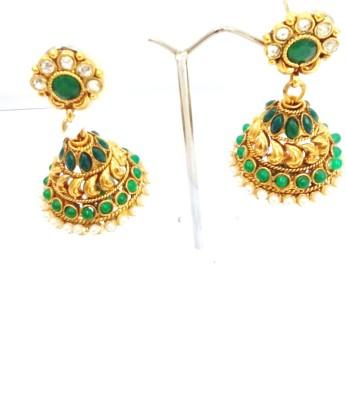 Swetha Antique Copper Jhumki Earring