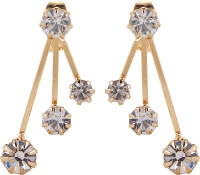 Fayon Fashion Statement Crystal Alloy Drop Earring