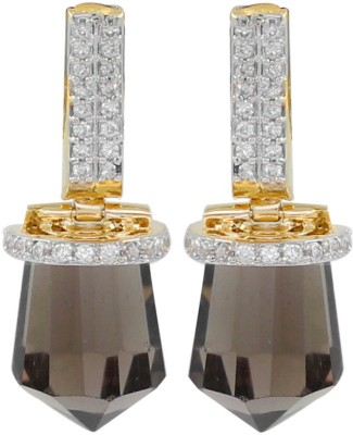 Gehnamart Sharp Brown Creative Alloy Drop Earring