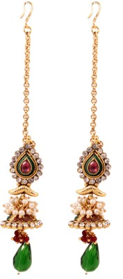 Itzmyfashion Ethnic Alloy Jhumki Earring