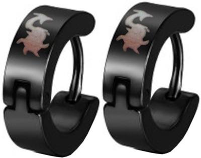 Men Style Stylish Stainless Steel Hoop Earring