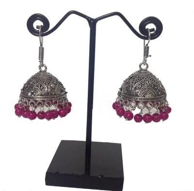 Shiv Kutumb Jawala Metal Jhumki Earring