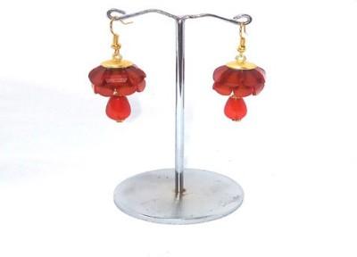 shalini jewlles flowrel Plastic Dangle Earring