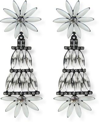 Aimez Floral Metal Chandelier Earring