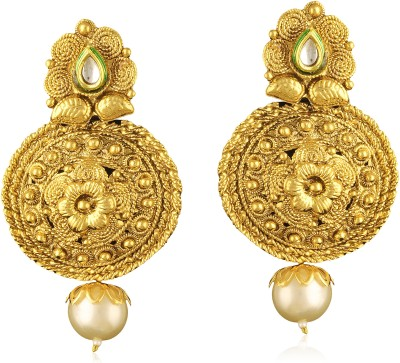 TAKSPIN vintage antique collectible tribal Alloy Drop Earring