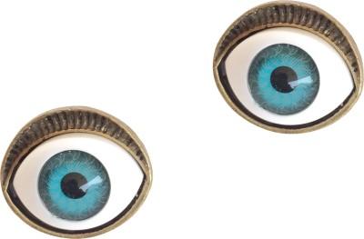 KooKoo Fashion Devil Evil Eye Copper, Alloy Stud Earring