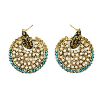 Ada Jewel Multicolor Alloy Dangle Earring