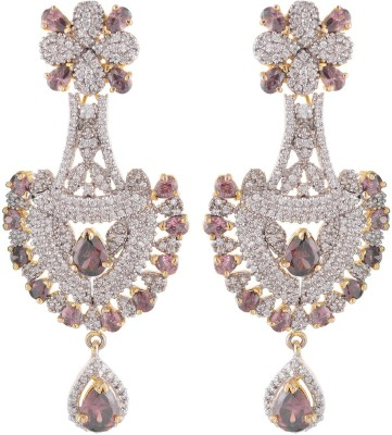 Neckies AFJE042 Brass Chandelier Earring