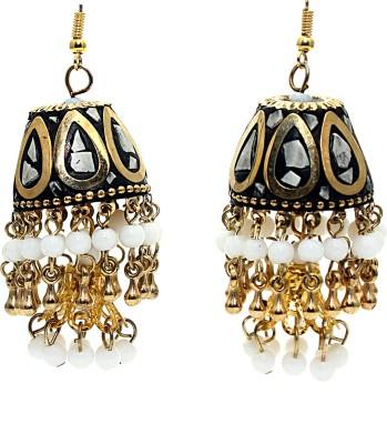 Zidox Colour Spree Brass Jhumki Earring