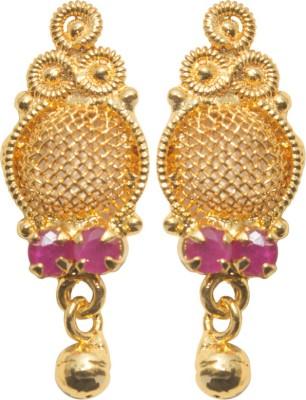 Rays PJM008 Zircon Copper Huggie Earring