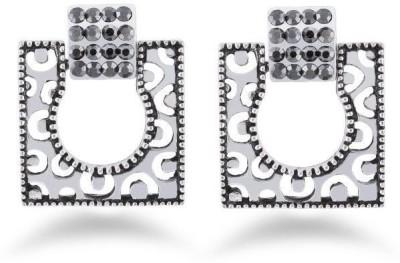 Jazz Jewellery Fancy Design Silver Colour Earrings For Womens Alloy Drop Earring