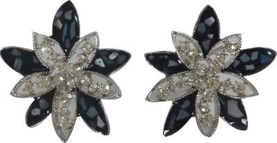 Jasveen jewellery Modern flower shaped earring Metal Earring Set