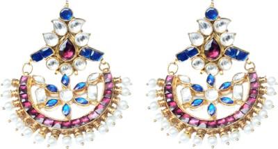 MKJewellers Copper Chandbali Earring