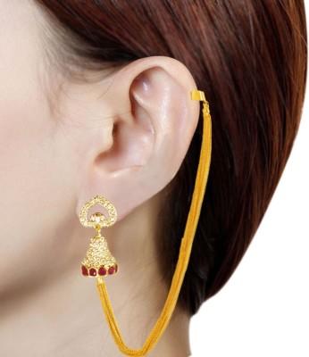 Prisha PPIPLCZER14 Zircon Copper Dangle Earring