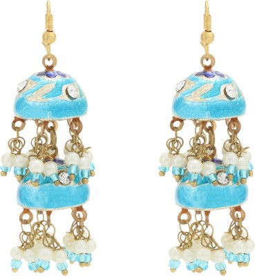 Happy States Abstract Metal Drop Earring