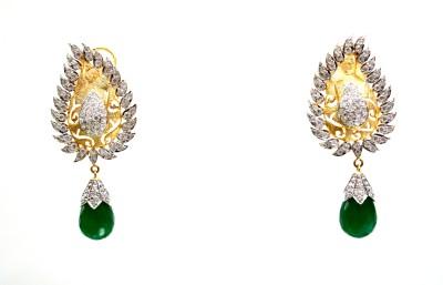 Zeba Fashion Jewellery Hangings Alloy Drop Earring