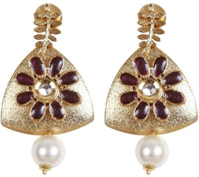 Rajwada Arts Brass Drop Earring