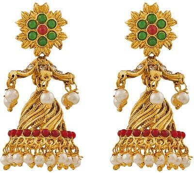 REEVA FASHION JEWELLERY JHUMKI Zinc Jhumki Earring