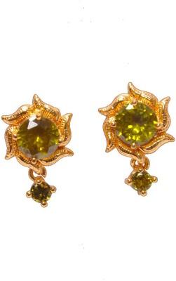 PFJ PFJ3053-EARRING Cubic Zirconia Brass, Copper Drop Earring
