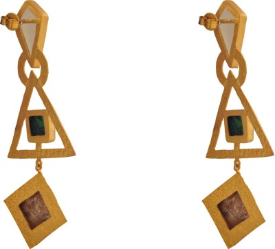 Ltd Edition LTD BR-GP17 Brass Drop Earring