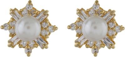 Classique DesignerJewellery shines Pearl Alloy Stud Earring