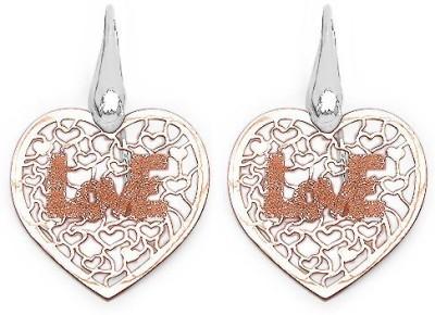 Johareez Beautiful Sterling Silver Dangle Earring