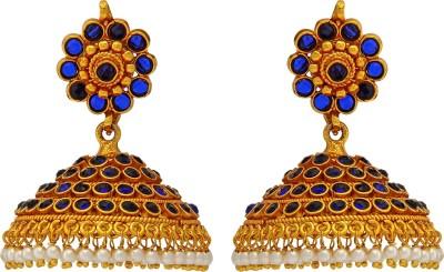 Mayuri Jewels Traditional Brass Jhumki Earring