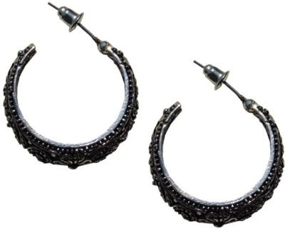 Excellent Gems German Metal Huggie Earring