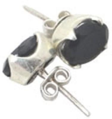 patashi exports black onyx Onyx Sterling Silver Stud Earring