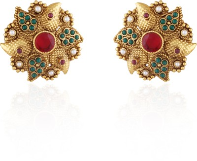 AccessHer Copper Stud Earring