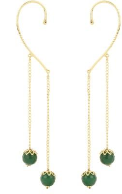 Dilan Jewels EAR000057 Beads Alloy Cuff Earring