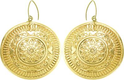 Kenway Retail Zingara Sagacity Brass Dangle Earring