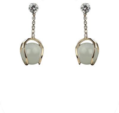 R18Jewels-Fashion&U Moonlight Sparkle Metal, Crystal Drop Earring