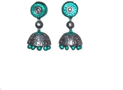 Aanya Creations Handmade Fashion Jewellery Ceramic Jhumki Earring