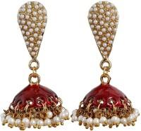 Maayra Grand Meenakari Crystal Copper Jhumki Earring best price on Flipkart @ Rs. 424