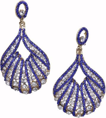 Traditsiya Diamante Stones Alloy Chandelier Earring