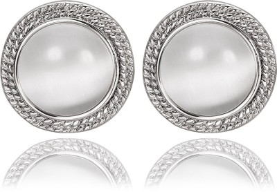 iSweven Platinum plated Latest Fashion Luxury piercing ED2563 Zircon Alloy Stud Earring