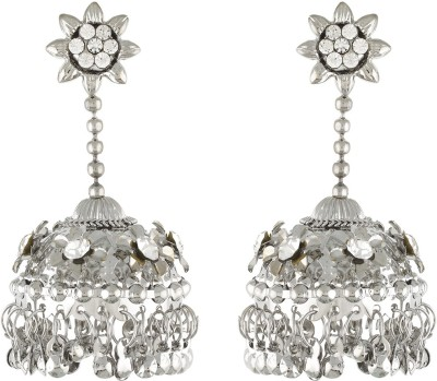 Dimple Creation Spring Alloy Jhumki Earring