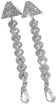 Royal Touch Jiggling Sparking Brass Drop Earring