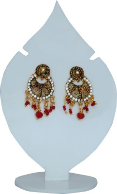 Ankur Brass Chandbali Earring